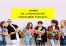 Barem Definitiu Batxillerats curs 20-21