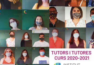 Tutors i tutores del curs 2020-2021