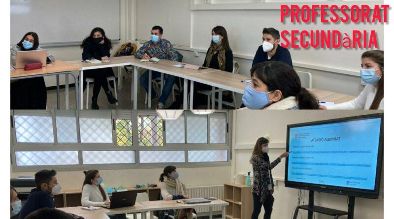 Pràctiques del Màster de Professorat de Secundària curs 20-21