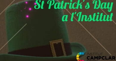 L'Institut es vesteix de verd per celebrar St. Patrick's Day
