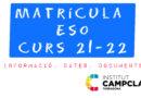 Matrícula ESO